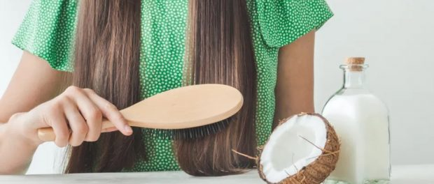 mascarilla de coco para el cabello