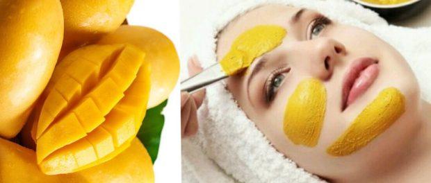 mascarilla de mango para la cara