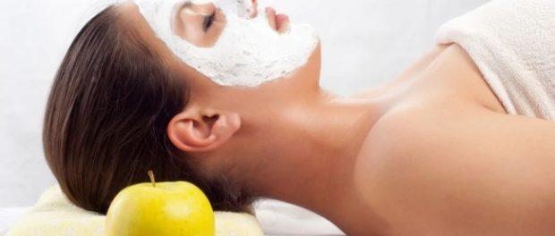 mascarilla de manzana para el acne